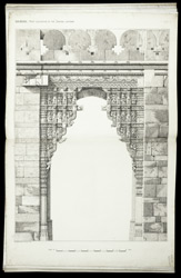 Dabhoi: West elevation of the Baroda Gateway.